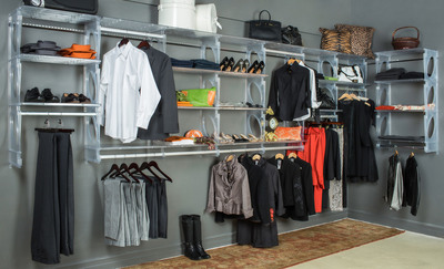 KiO (Keep it Organized) Storage Launches a New Sophisticated Shelving and Closet System