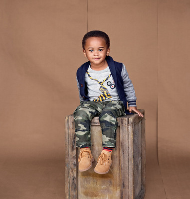 Gap Casting Call winner Robbie, age 2, from College Station, TX. (PRNewsFoto/Gap Inc.)