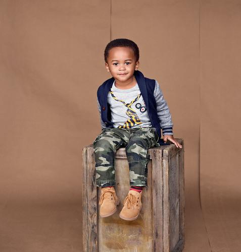 Gap Casting Call winner Robbie, age 2, from College Station, TX. (PRNewsFoto/Gap Inc.)