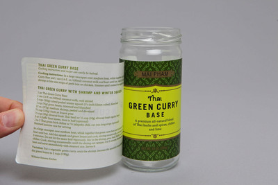 Expanded content label produced by Label Impressions for Williams-Sonoma.  (PRNewsFoto/Label Impressions, Inc.)