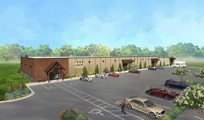 Leland Little Auctions announces the third expansion of their custom-designed auction gallery, illustrated in this artist's rendering.