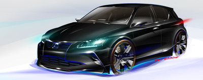 Lexus Exhibit Will Exude 'Performance' at 2011 Chicago Auto Show.  (PRNewsFoto/Toyota Motor Sales, U.S.A., Inc.)