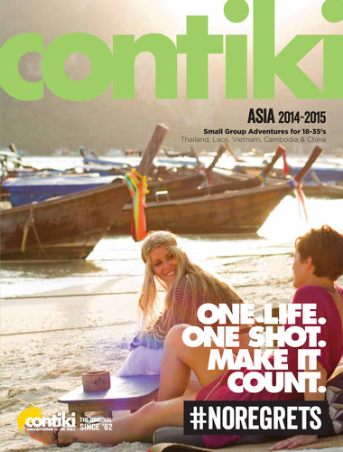 Your fortune lies in Asia, come find it with Contiki