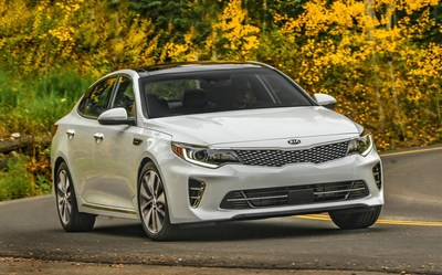 2016 Kia Optima and Sedona named to Kelley Blue Book's 16 Best Family Cars for 2016 list