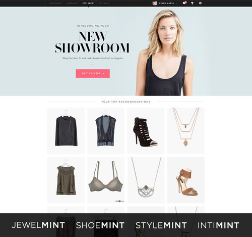 BeachMint's four women's fashion brands: JewelMint, StyleMint, ShoeMint and intiMINT.  ...