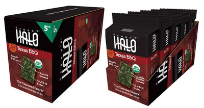 New Ocean's Halo Seaweed Snacks in easily consumable sheets are now available in three tasty flavors - - Sea Salt, Texas BBQ and Sriracha. The products are all USDA-certified organic, non-GMO, vegan and gluten-free. They are packaged in a 100% compostable tray, box and silica. The product is available in a unique Family Pack as well as the by the unit. Ocean's Halo Seaweed Snacks and Chips will be on display and available to sample at the 2015 Natural Products Expo West, booth #5267 in Anaheim, CA March 6 - 8.
