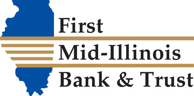 First Mid provides comprehensive banking, trust and wealth management, and insurance services through its operating subsidiaries First Mid-Illinois Bank & Trust, N.A., and First Mid Insurance Group. It operates banking centers and ATMs in over 25 communities in Illinois.  More information about First Mid is available at www.firstmid.com.  (PRNewsFoto/First Mid-Illinois Bank & Trust)