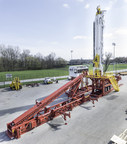 The T250XD builds upon the success of Schramm's Telemast(R) line designed for deeper drilling applications by increasing the overall efficiency, safety and cost-effectiveness of shale drilling programs, photo courtesy of Schramm. (PRNewsFoto/Schramm, Inc.)