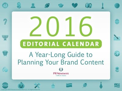 Statistics show that the most effective content marketers document their strategy. Not sure where to start? Our step-by-step planning guide and sample 2016 editorial calendar are the perfect tools to help prepare for the new year.
