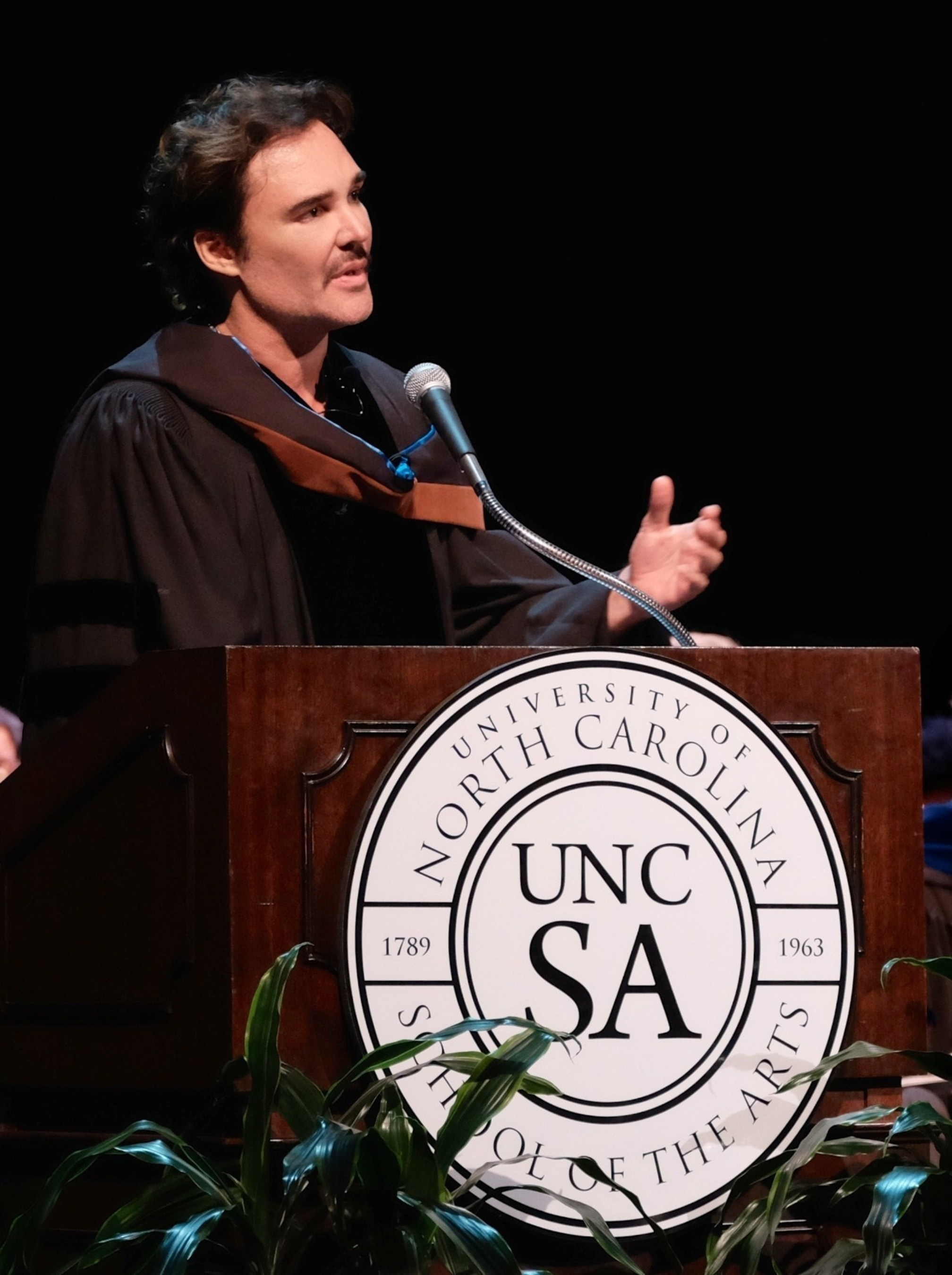 Listen to the Voice Inside: David LaChapelle Tells UNCSA High School Grads To Forge Their Own Paths