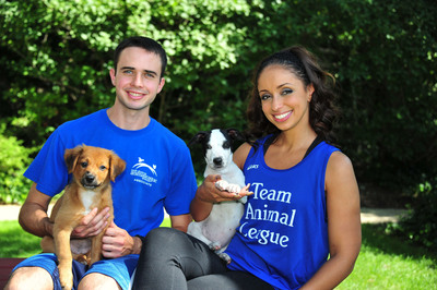Grammy Award-winning singer Mya will join fifty other animal-loving athletes aiming to raise $200,000 for the dogs, cats, puppies, and kittens of North Shore Animal League America, as members of Team Animal League in the ING New York City Marathon. (PRNewsFoto/North Shore Animal League America)