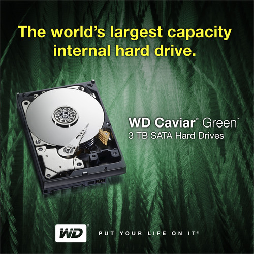 WD® Now Shipping the World's Largest Capacity SATA Hard Drives