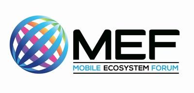 Mobile Ecosystem Forum (MEF) logo (PRNewsFoto/Mobile Ecosystem Forum (MEF))