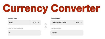 MahiFX Online Foreign Exchange Currency Converter