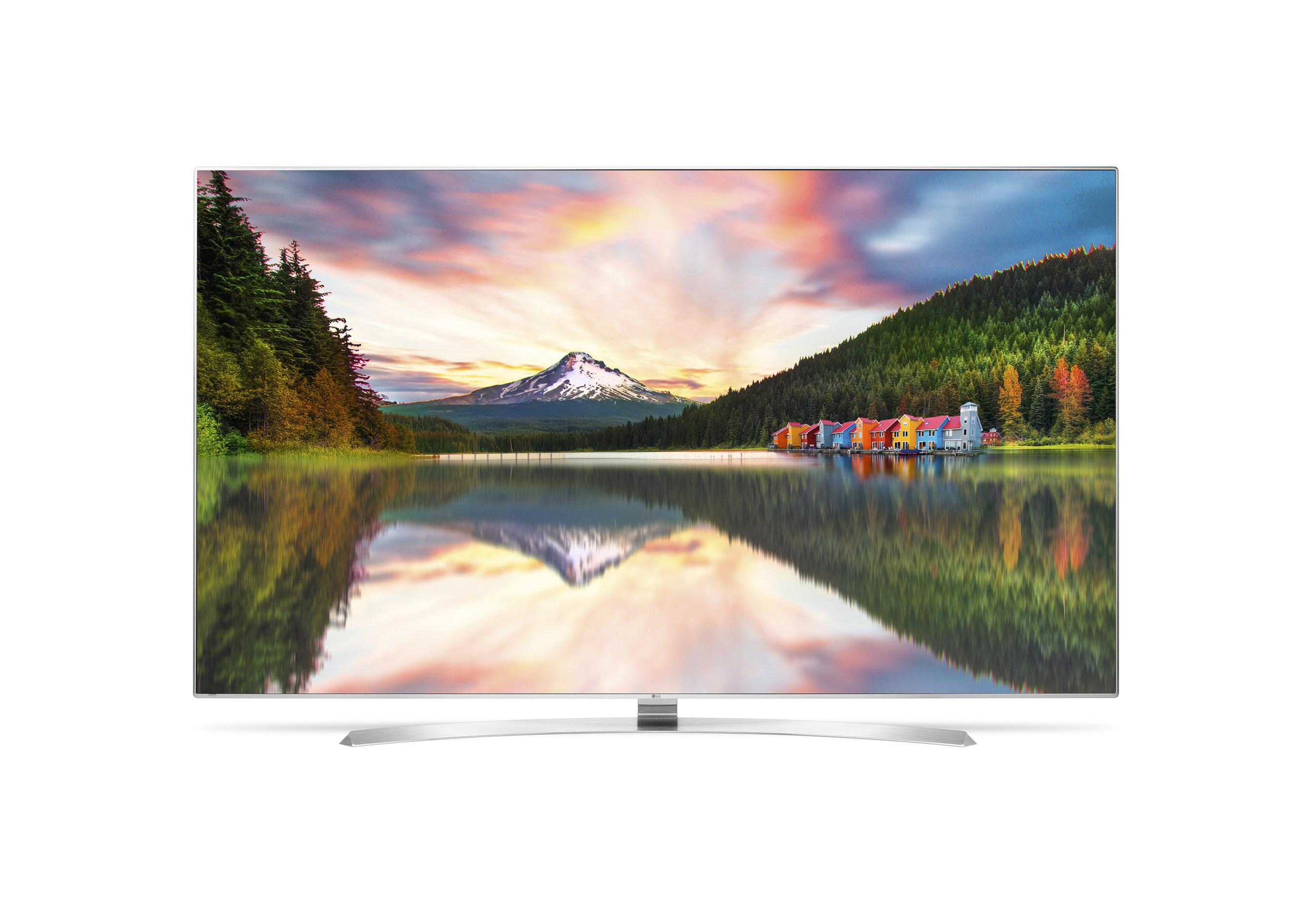 "LG Electronics will unveil ""LG SUPER UHD,"" a new premium line of 4K Ultra HD TVs at CES (R) 2016 in Las Vegas next week. Leading the company's 2016 4K Ultra HD LCD/LED TV lineup, LG SUPER UHD TV, which includes the UH9500 pictured, will feature LG's most advanced LCD/LED picture quality ever, with expanded color capabilities, advanced picture and sound-enhancing features including high dynamic range (HDR) and LG's alluring Flat ULTRA Slim design."
