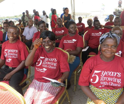 Cargill celebrates five years in Ghana and renews its partnership with CARE to support sustainable cocoa (PRNewsFoto/Cargill)