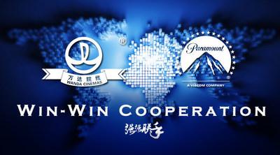 Win-Win Cooperation between Wanda Cinemas and Paramount Pictures