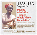 TEAS'® TEA Continues to Build on Whole Planet Foundation Partnership