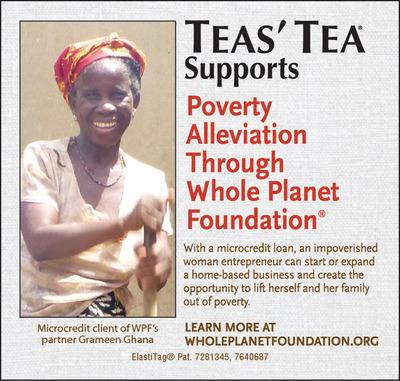 TEAS' TEA Supports Whole Planet Foundation-6th Year Partnership.  (PRNewsFoto/ITO EN)