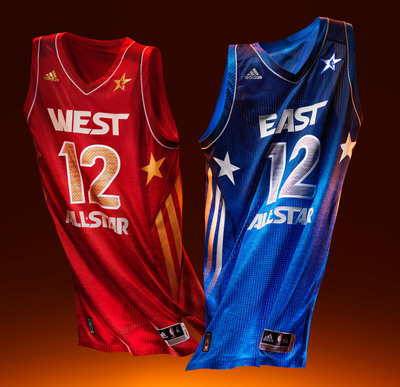 adidas and the NBA Go Court to Street to Celebrate 2012 NBA All-Star Game.  (PRNewsFoto/adidas)