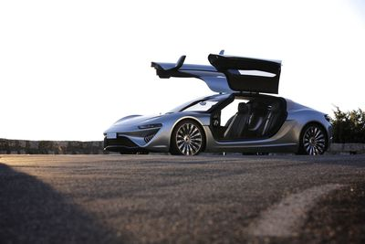 Highlight at the Geneva Motor Show 2014: The World Premiere of the QUANT e-Sportlimousine With nanoFLOWCELL® Powertrain Concept