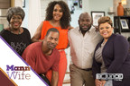 New episodes of the new hit comedy series Mann & Wife, starring David & Tamela Mann (Right) premiere Tuesday nights at 9:00 p.m. ET/8:00 p.m. CT on Bounce TV. Vivica A. Fox, JoMarie Payton and Tony Rock co-star. The series follows the newlywed, second-chance sweethearts as they laugh and love their way through the ups and downs of life as a blended family, each with two children from previous marriages. Bounce TV is the nation's first-ever and fastest-growing broadcast television network designed for...