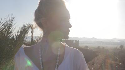 'Morocco' starring Kate Bosworth.  (PRNewsFoto/BeachMint)