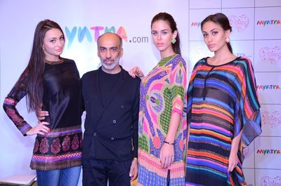 Myntra.com Announces Exclusive Tie-up With 'Indian by Manish Arora'