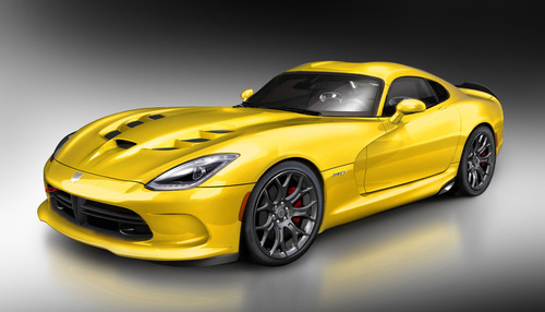 Mopar readies SRT Viper for SEMA.  (PRNewsFoto/Chrysler Group LLC)