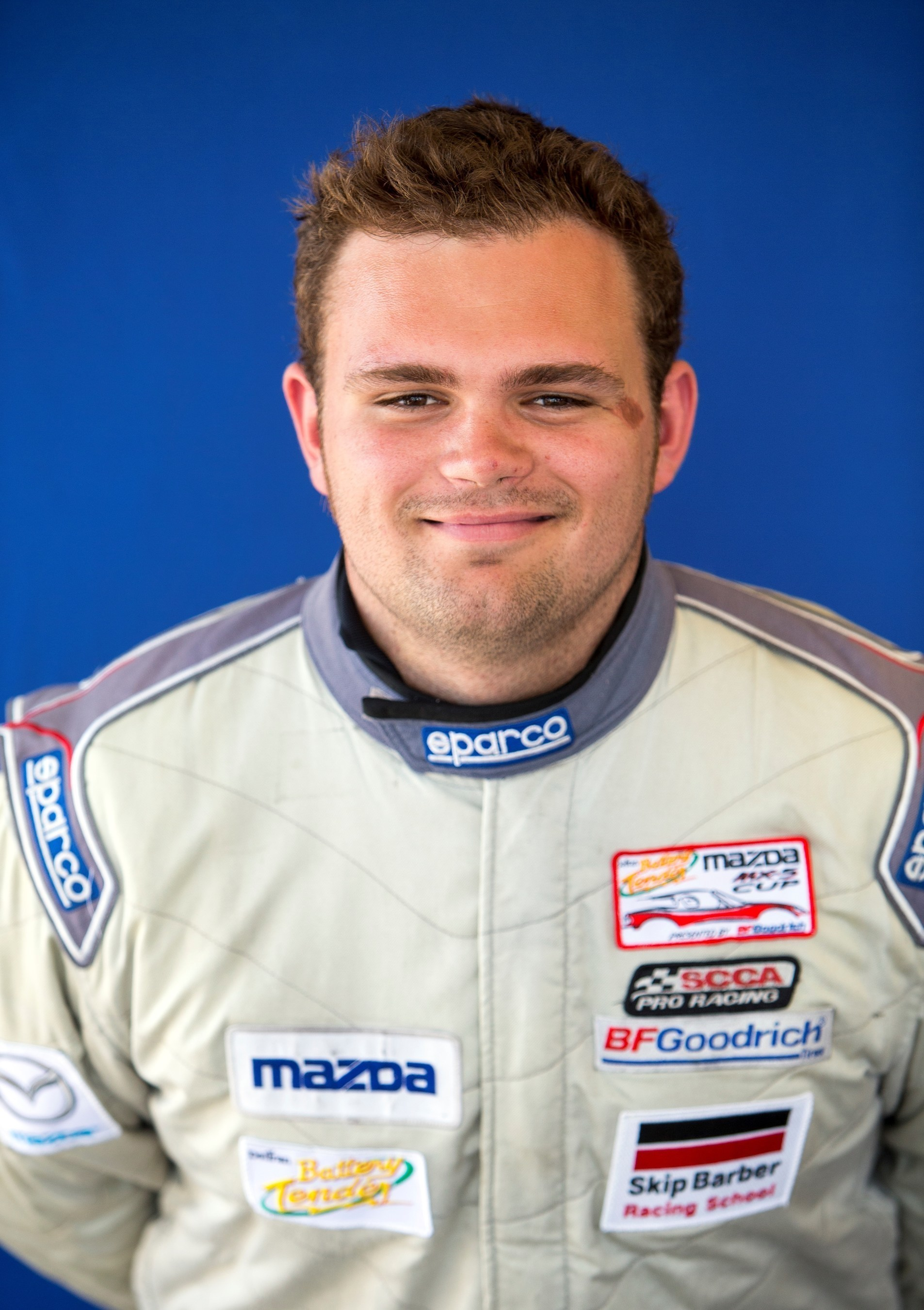 Robby Foley takes his $100,000 Mazda scholarship to the Atlanta Motorsports Group racing team, and will compete in the 2016 Battery Tender Global Mazda MX-5 Cup presented by BFGoodrich Tires.