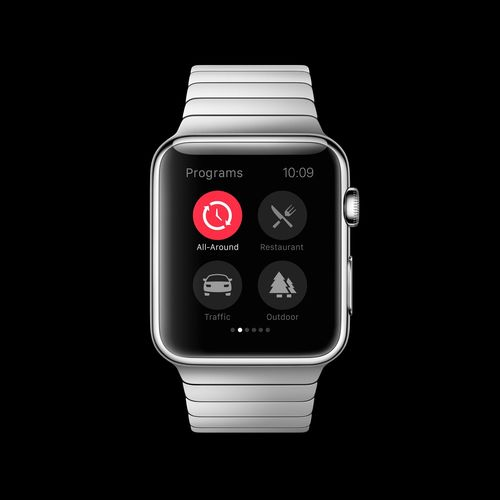 ReSound smart application now available for the Apple Watch (PRNewsFoto/Designit)
