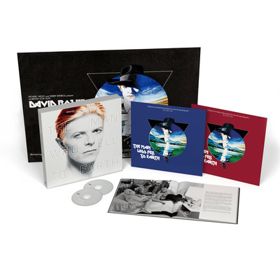 In celebration of the the 40th Anniversary of the cult classic film, 'The Man Who Fell To Earth,' UMe has released the original soundtrack for the very first time 40 years after its release. The full 25-track soundtrack is available now digitally and on CD. On December 16, a 2 LP vinyl edition of the soundtrack will be released as well as a limited edition dual format 2 LP/2 CD deluxe box, featuring a 48-page hardback book with rare photos and illuminating notes and essays.