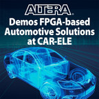 Demonstrations include solutions for ADAS, electric vehicle powertrain and infotainment systems. Booth West 8-49.