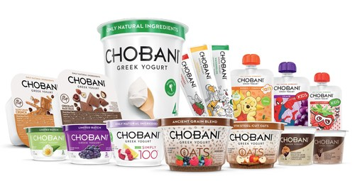 Chobani launches new product innovations in January 2015 to further grow the category