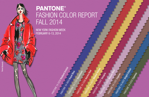 Pantone Announces Fashion Color Report Fall 2014. (PRNewsFoto/Pantone LLC) (PRNewsFoto/PANTONE LLC)