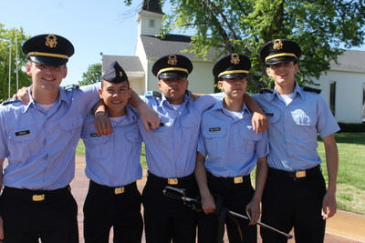The graduation rates of many military schools average anywhere from 90 percent to 100 percent. Military schools routinely produce higher graduation rates due to their focus on academics, lower student to teacher ratios, and structured environment. Success in a military school environment becomes substantially easier when cadets enter with, or adopt, a sense of discipline and personal accountability. It is also aided considerably when the cadet's parents are involved in and supportive of his schooling.