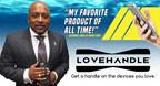 Daymond John of Shark Tank partners with LoveHandle(R) Smartphone Grips