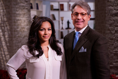 """100 Huntley"" Hosts April Hernandez and Eric Metaxas"