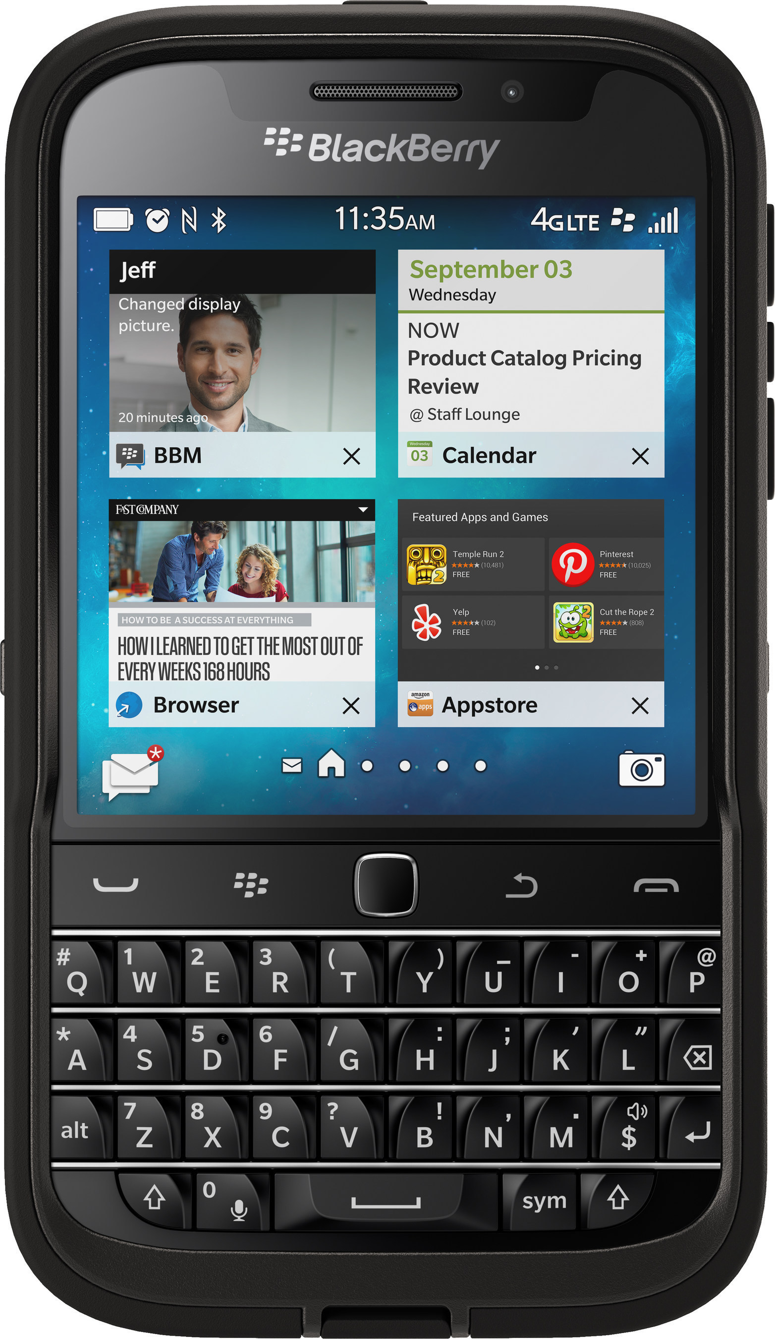 Pure Protection: OtterBox Defender Series for BlackBerry Classic Available Now