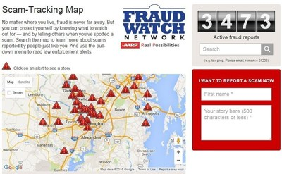 Online ScamTracking Map Allows Consumers to Report and Monitor – Aarp Travel Maps