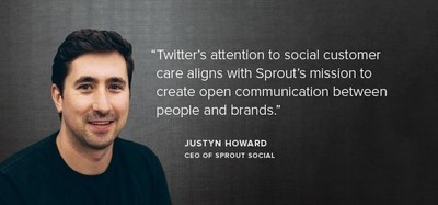 Justyn Howard, CEO of Sprout Social