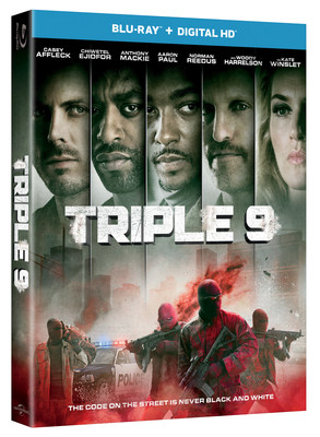 From Universal Pictures Home Entertainment: Triple 9