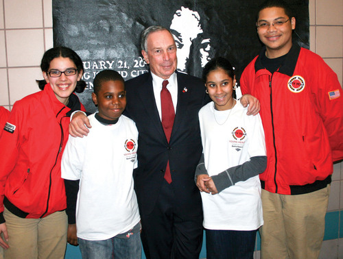 City Year CEO and Co-Founder Praises Mayor Bloomberg for Multi-Million Dollar Minority Youth