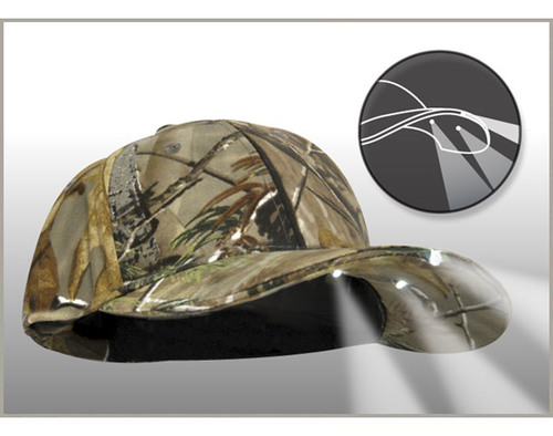 Panther Vision's PowerCap™ Lighted Cap Gives Hunters, Anglers and Outdoor Enthusiasts the Power to
