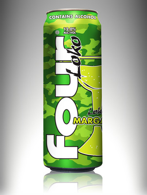 Phusion Projects, LLC today announced the arrival of its latest Four Loko flavor --Margarita-- which will begin appearing on store shelves later this month. Four Loko Margarita was created to meet consumers' continued demand for new products and innovative flavors.  (PRNewsFoto/Phusion Projects, LLC)