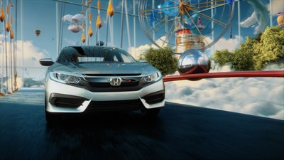 "New Honda Advertising Campaign, ""Dreamer"" Celebrates the Imaginative, Innovative Redesign of the All-New 2016 Civic"