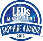 LEDs Magazine Sapphire Awards 2016