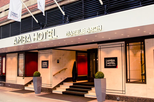 Amba Hotel Marble Arch officially opens today after a multi-million pound refurbishment to become the second ...