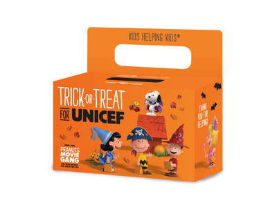 Join The Peanuts Movie Gang and Trick-or-Treat for UNICEF
