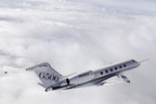 The first Gulfstream G500 test aircraft, T1, completes flutter testing.
